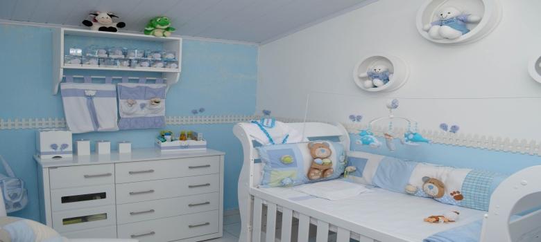 Decoraç u00e3o Quarto de Bebe Masculino Dicas e Ideias -> Decoração De Quarto De Bebe Pequeno Masculino
