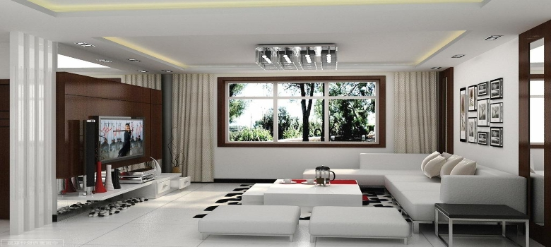 Decorar Uma Sala Pequena E Simples ~  pequena e simples  Decoração de Sala de Estar Pequena e Simples