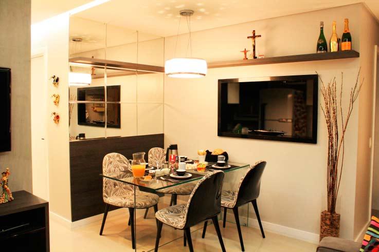 Decora o de apartamentos pequenos como fazer for Pequeno apartamento