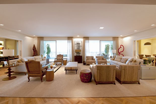 Como decorar ambientes grandes 5 otimas dicas for Como decorar sala grande