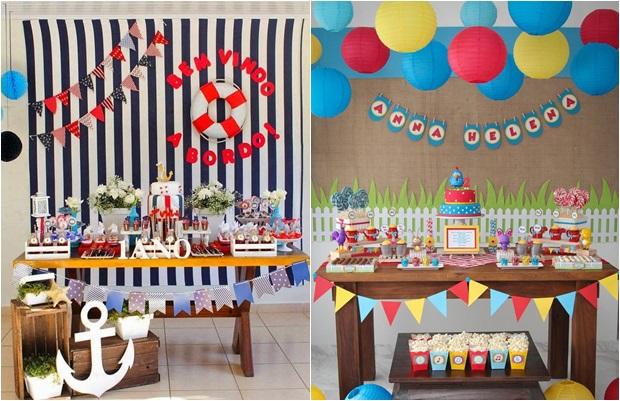 Decoraç u00e3o de mesa para festa infantil