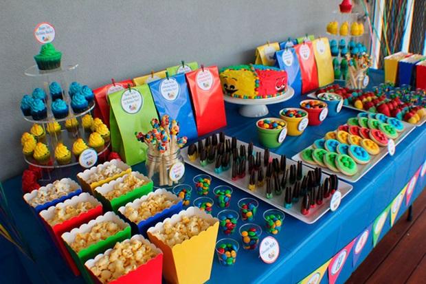 Decoração de casa Festa infantil Mesas de doces