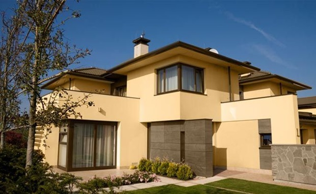 Cores de tintas para paredes externas melhores dicas - Pintura para fachadas de casas ...
