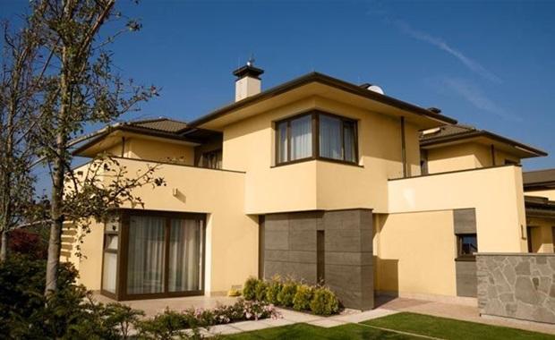 Cores de tintas para paredes externas melhores dicas for Pinturas bonitas para casas