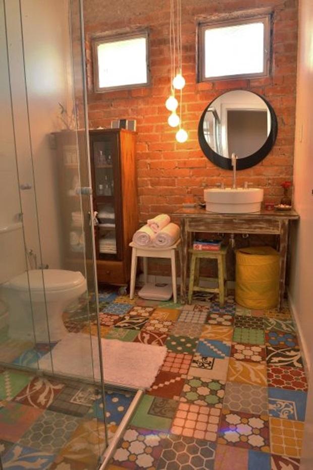 Ladrilho Hidraulico Piso Banheiro : Pisos e revestimentos para banheiros como usar