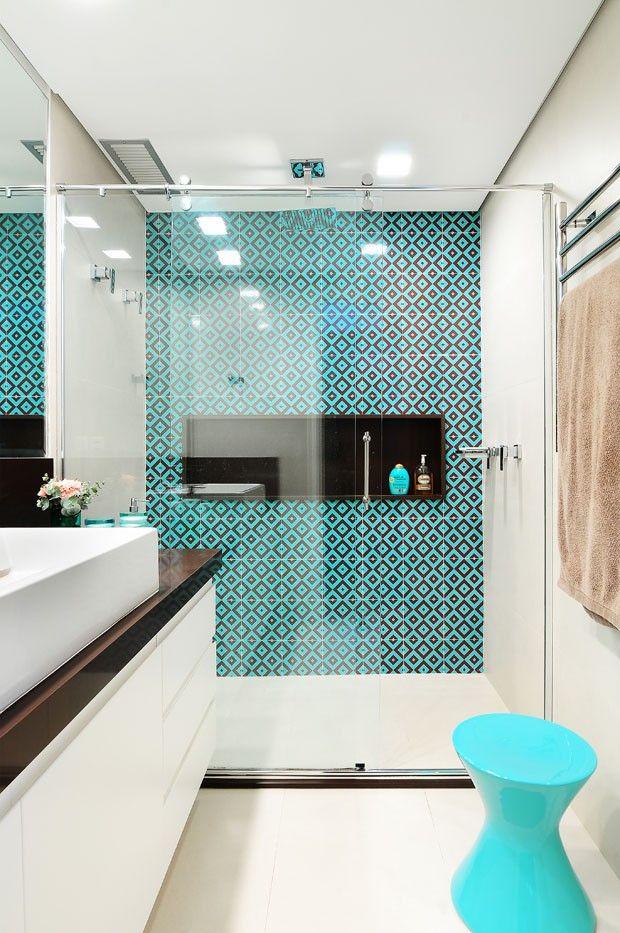 Azulejo Para Baño Antiderrapante:confira osâ tipos mais comuns de pisos e revestimentos para banheiros