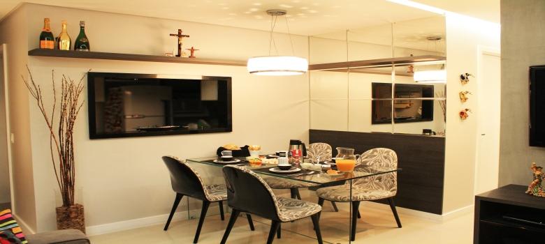 Sala De Jantar Com Espelho ~ Espelhos Decorados para Sala de Jantar – Como Usar