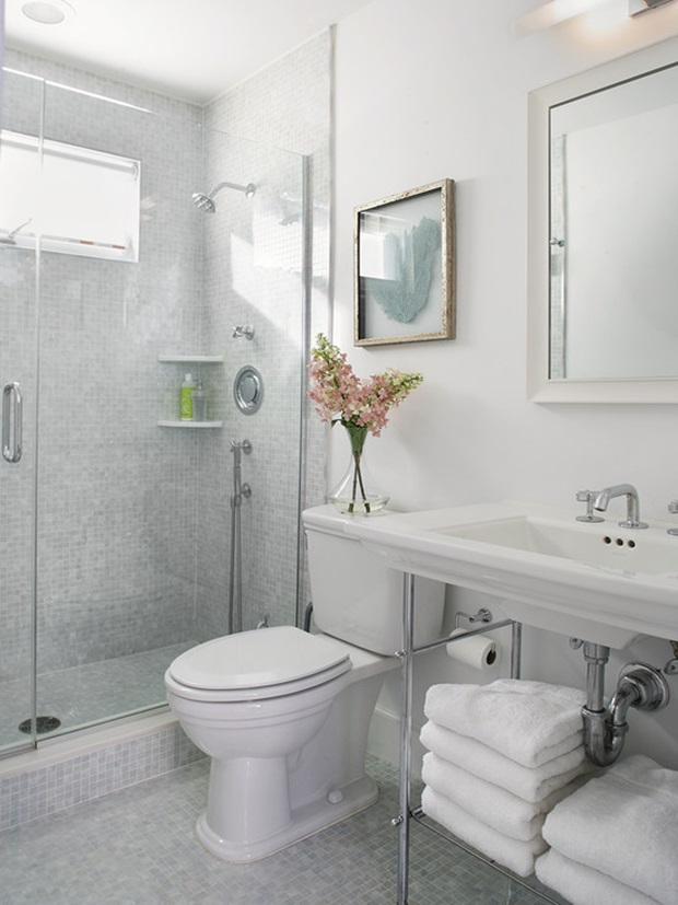 How Much Would It Cost To Tile A Small Bathroom: Pisos E Revestimentos Para Banheiros