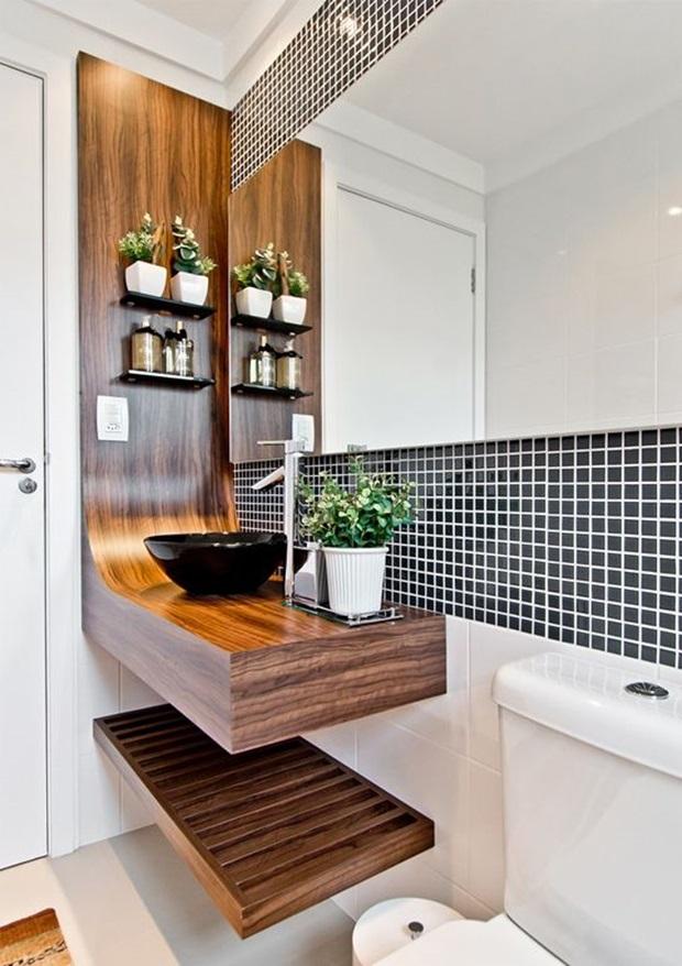 Pisos e Revestimentos para Banheiros  Como Usar -> Banheiro Moderno Revestimento