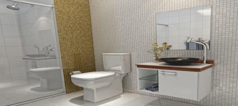 Decoração de Banheiro Simples e Barata  Como Fazer -> Banheiro Simples De Sitio