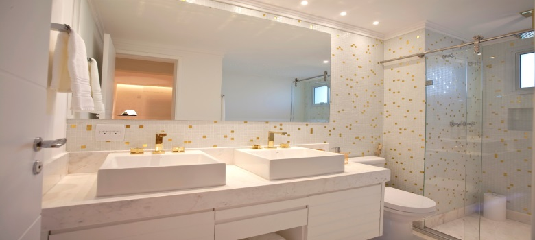 Dicas de Decoração para Banheiros Pequenos -> Fotos De Decoracao De Banheiros Muito Pequenos