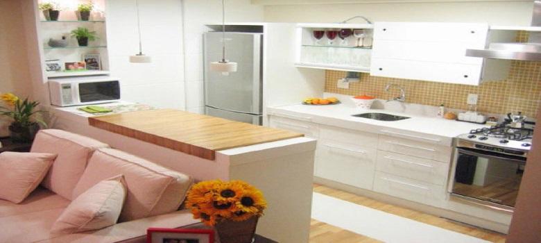 Como Organizar Uma Cozinha Pequena e Simples  3 Dicas # Uma Cozinha Simples