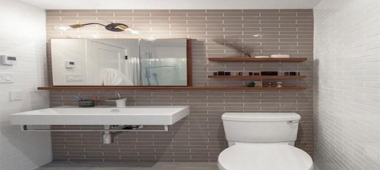 Dicas de Decoração para Banheiros Pequenos -> Decoracao De Ceramica Para Banheiro Pequeno