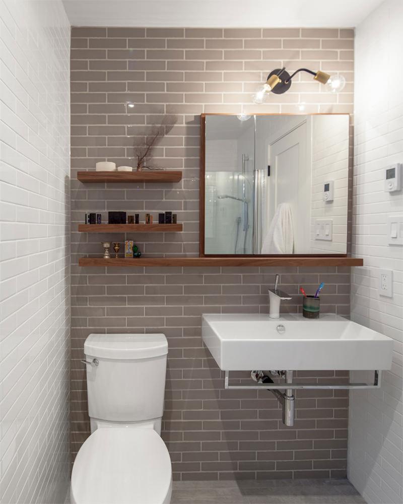 Decoração de Banheiro Simples e Barata  Como Fazer -> Banheiros Simples E Arrumados