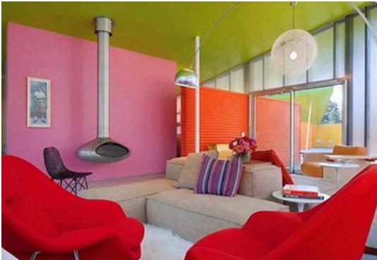 Casas pintadas com cores modernas dicas e inspira es for Fotos paredes pintadas modernas
