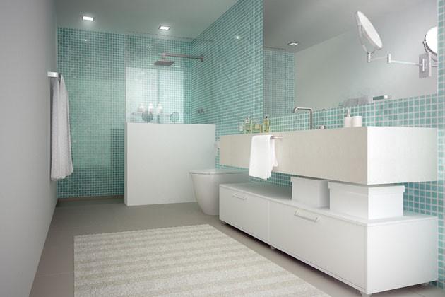 Armários planejados para banheiro grandes e pequenos -> Armario Para Banheiro Pequeno Casas Bahia