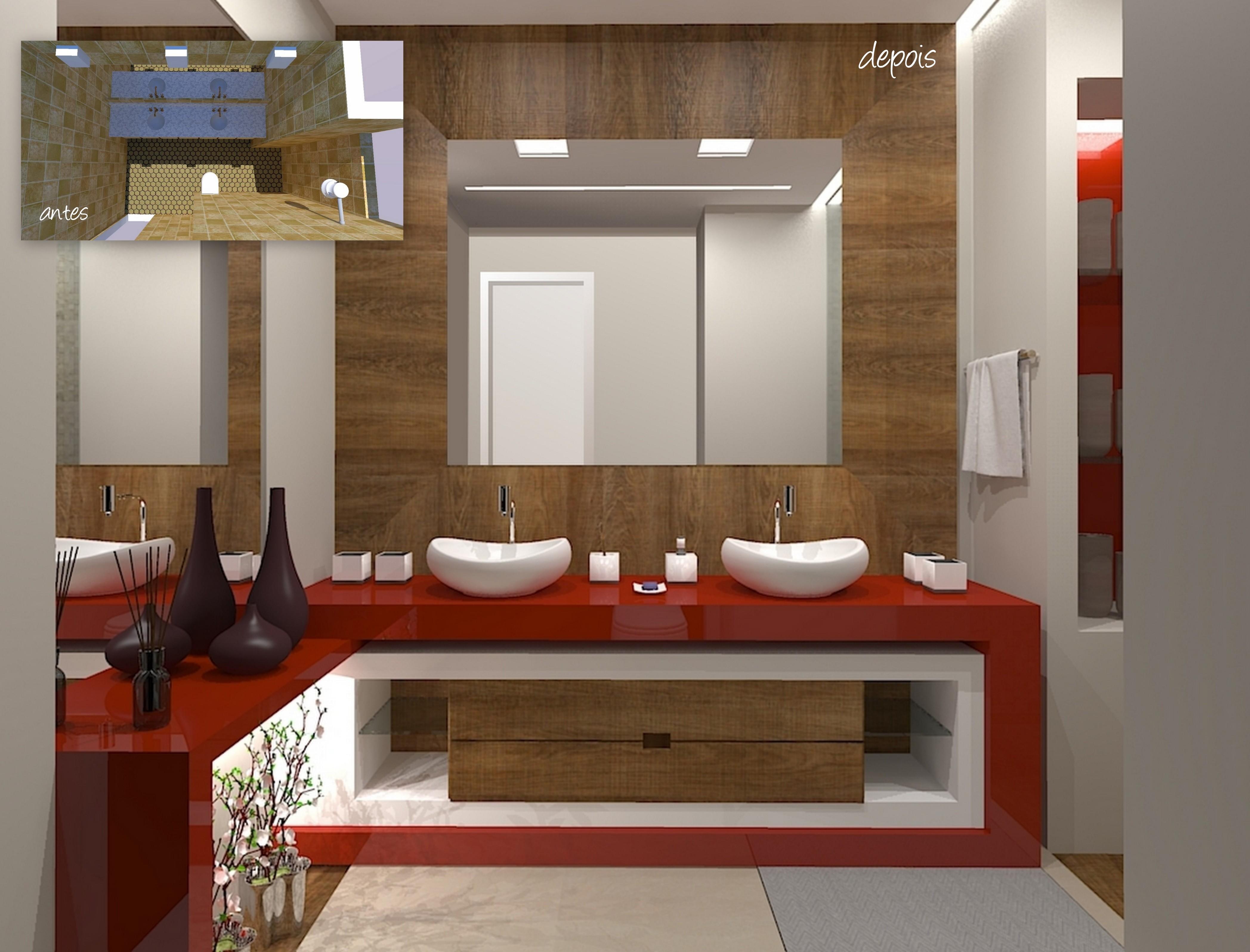 Gabinetes para banheiro produzidos em vidro são uma ótima  #B62F15 4191 3192