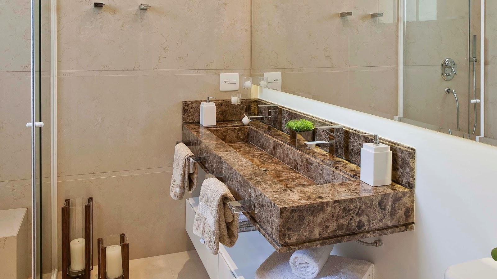 oba hora de decorar o banheiro mas qual gabinete para banheiro com #412C1C 1600x900 Balança De Banheiro Como Usar