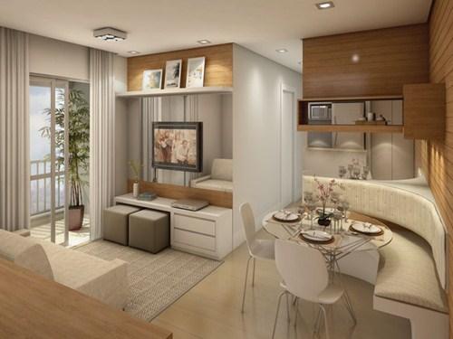Decora o para apartamentos pequenos dicas r pidas for Decorar apartamentos modernos pequenos