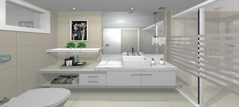 Decora o de banheiros simples e bonitos 3 segredos for Interior design moderno e contemporaneo