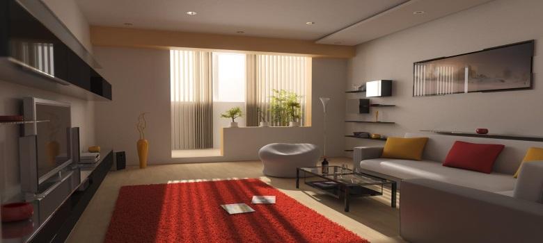 Decoraç u00e3o de Sala de Estar Bonita e Simples Como Fazer -> Decoração De Interiores Salas Simples