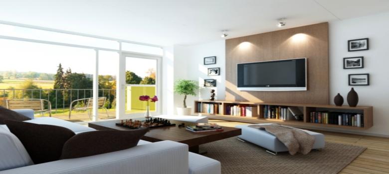 decoracao de sala simples e bonitaComo Fazer uma Decoração Simples