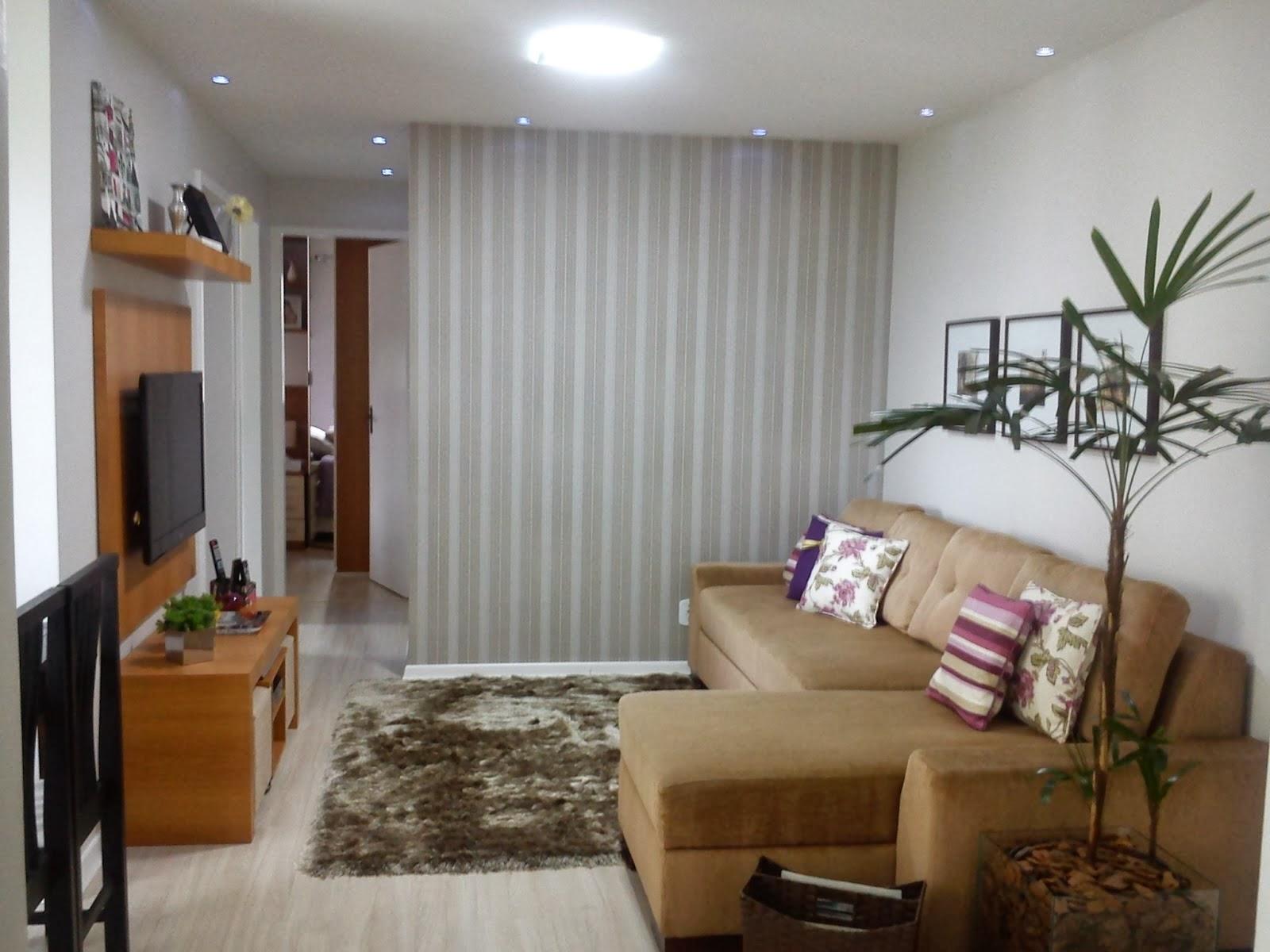Dicas Reforma Sala Pequena ~ Dicas de como decorar uma Sala Pequena  Decore Já