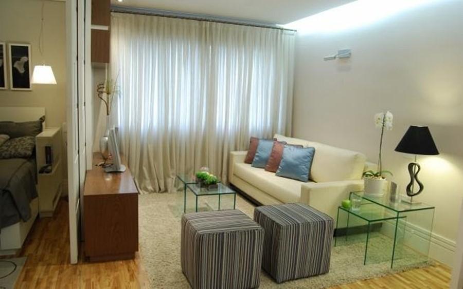 Sala De Televisao Pequena Decorada ~ Dicas de como decorar uma Sala Pequena  Decore Já