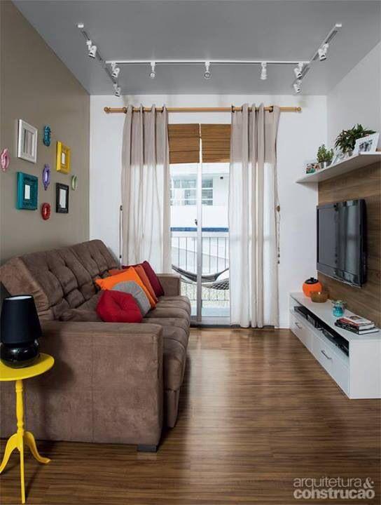 Dicas de decora o para salas pequenas como fazer for Salas de casas pequenas
