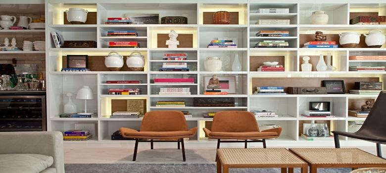 As melhores estantes para livros para sua casa - Lack estante de pared ...