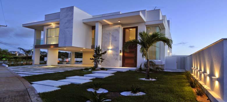 Porque amamos fachadas de casas bonitas e modernas for Casas grandes modernas