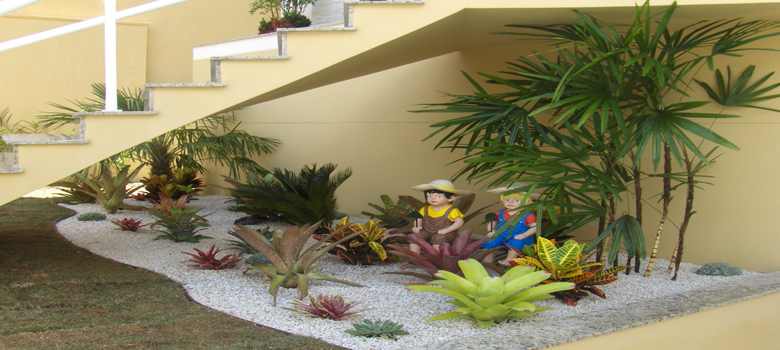 imagens jardins pequenos : imagens jardins pequenos:Jardins Pequenos Decorados – Como Decorar