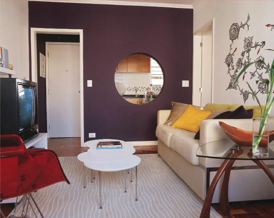 Sala de estar quadrada
