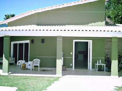 Cores de fachadas de casas modernas dicas e tend ncias for Pinturas 2016 para casas