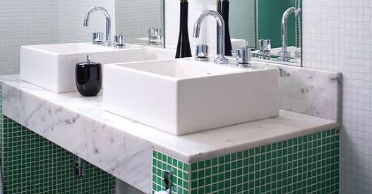 Decoração para Banheiro  7 Dicas Incríveis -> Cuba Para Banheiro Dupla