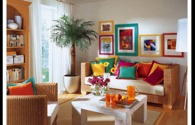 Sala De Tv Simples E Aconchegante ~ Dicas de decoração de casas simples e baratas