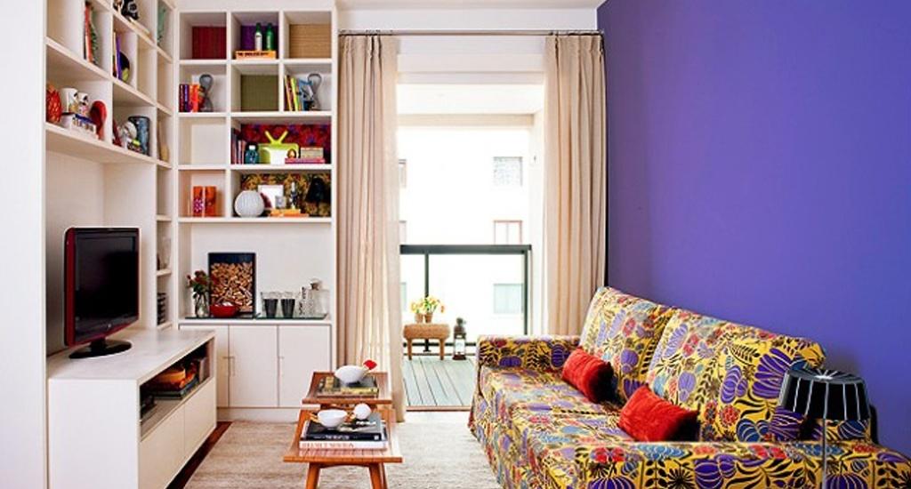 Como Decorar Sala Unica E Pequena ~  possível decorar a sala gastando pouco e deixala linda e moderna