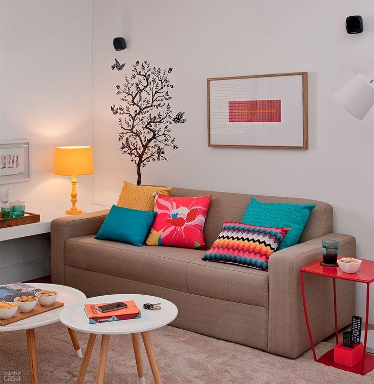 Dicas de como decorar a sala gastando pouco - Objetos para decorar paredes ...