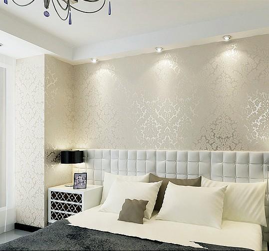 Papel de parede branco dicas incr veis para usar - Cenefas de papel para paredes ...