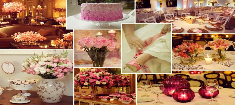 Decoração de casamento faça você mesmo flores