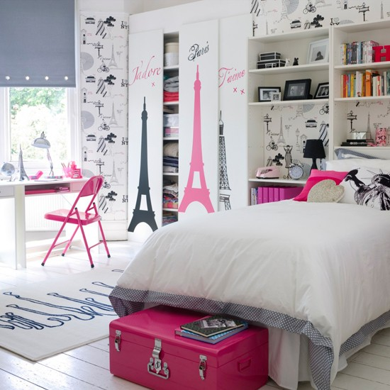Veja algumasDicas de decoração para quartos de jovens que