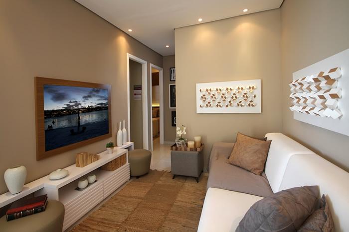 Sala De Estar E Tv Planejada ~ Por que optar por moveis planejados para sala de TV