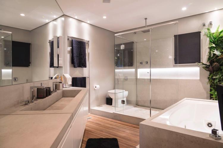 Decoraç u00e3o de Banheiro Simples e Barata Como Fazer -> Decoração De Casas Simples E Barato Banheiro