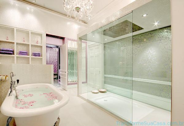 Banheiro de luxo – Como decorar 0 dicas de decoração como decorar como organizar