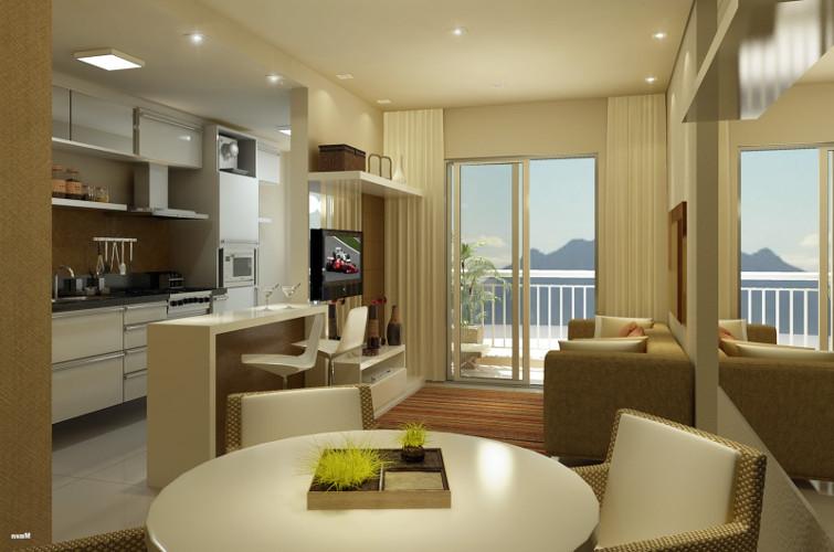 Decora o de sala de apartamento como decorar dicas for Como decorar una apartamento pequeno