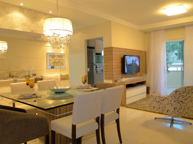Decora o de sala de apartamento como decorar dicas for Como decorar sala grande