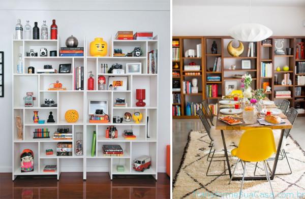Estante para sala – Como escolher 9 dicas de decoração como decorar como organizar