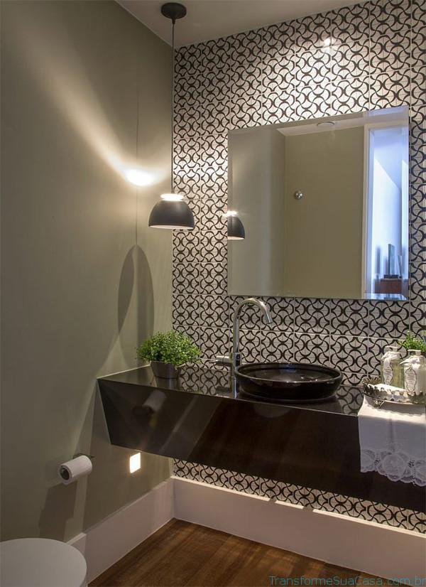 Papel de parede para lavabo – Como usar 3 dicas de decoração como decorar como organizar