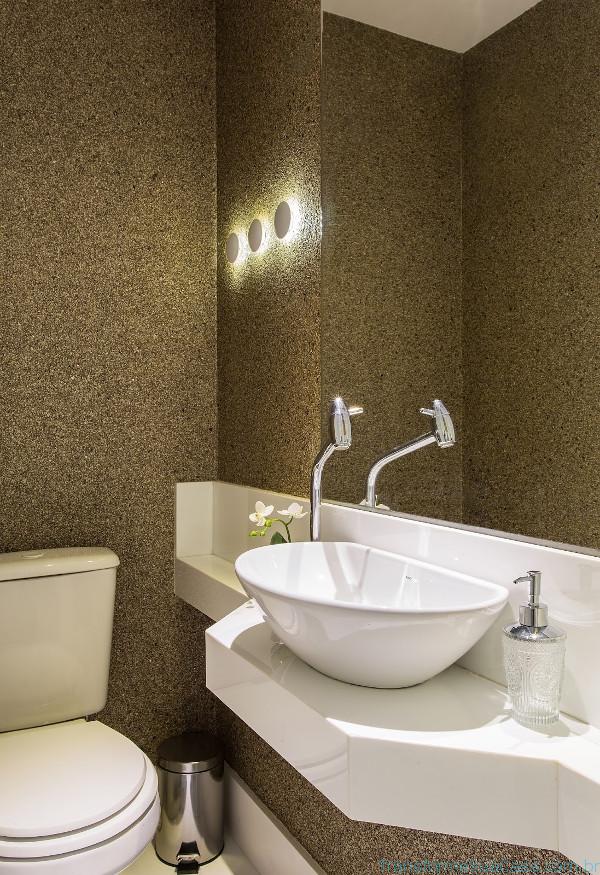 Papel de parede para lavabo – Como usar 9 dicas de decoração como decorar como organizar