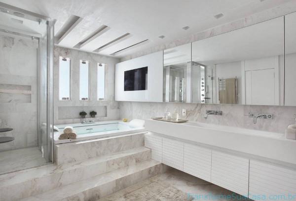 Revestimento para banheiro – Como escolher 11 dicas de decoração como decorar como organizar